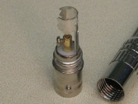 Разъем BNC с металлическим колпачком под болт (М) (как у камеры) *1001