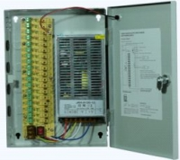 Блок питания в металлическом боксе 12V-10A-9 - 12В / 10А / 120Вт / 9 каналов (240*210*50) *1469