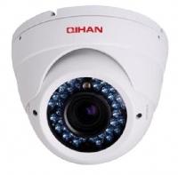Камера аналоговая купольная антиванд. VS-D406SN 1/3'' Sony Color CCD,420ТВл, ИК30м,6-15мм,IP55 *0491