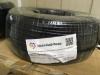 Кабель комбинированный КВК черного цвета 2 жилы питания 0,5 мм Уралкабмедь (КВК-П-2х0,5) медь *6030